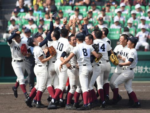 2018年優勝大阪桐蔭高校