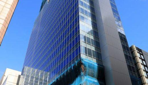 【爆発火事!】新橋方面建築中ビルの屋上から黒煙は何ビルから?