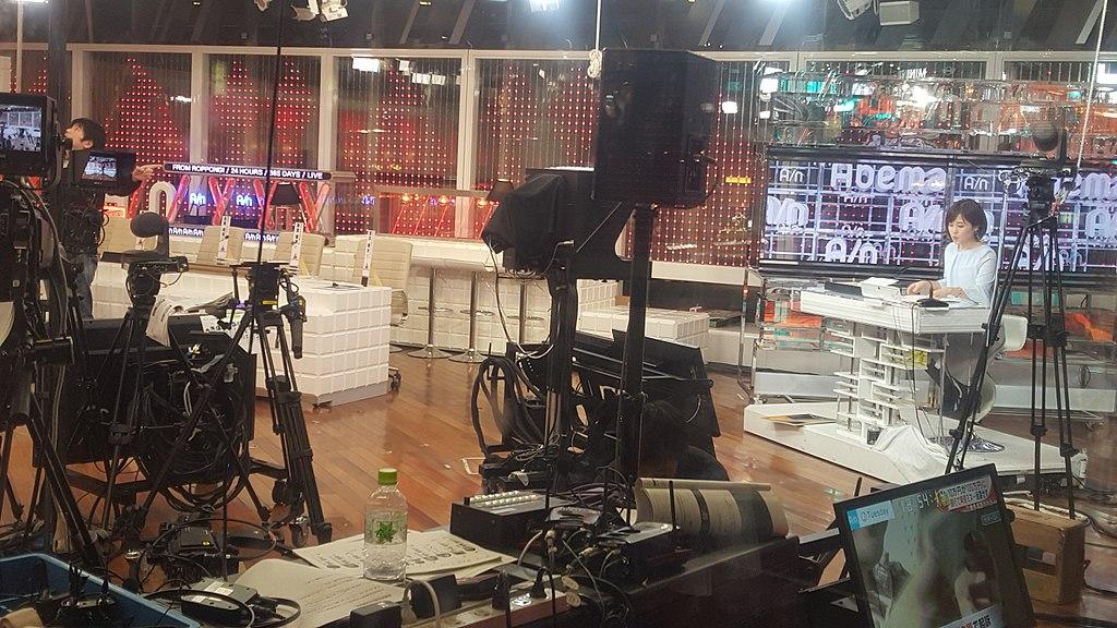 ameba newsのスタジオ内画像