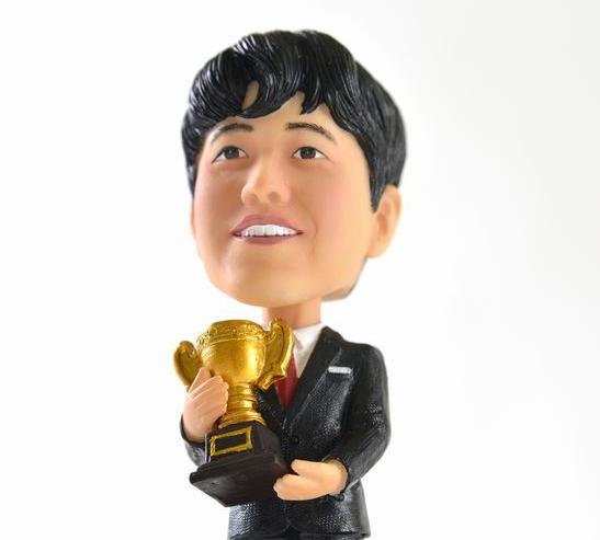 藤井聡太人形