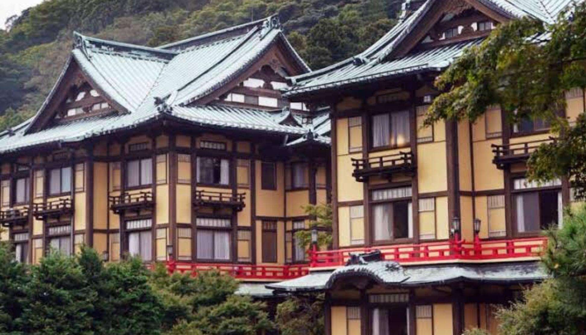 箱根富士屋ホテルの外観