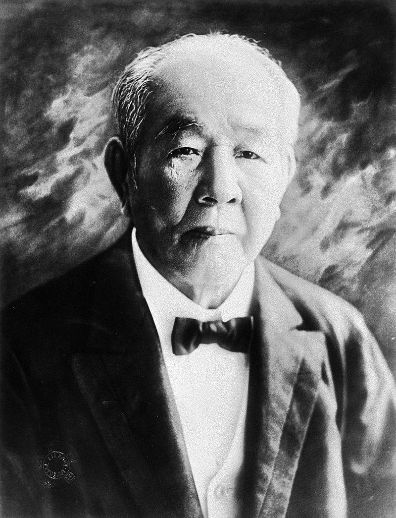 日本資本主義の父の渋沢栄一