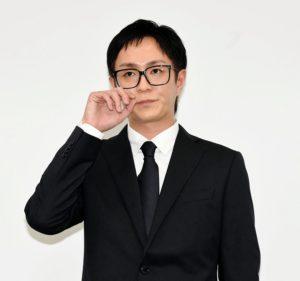 AAA浦田直也記者会見で黒スーツに黒髪と黒縁メガネで謝罪