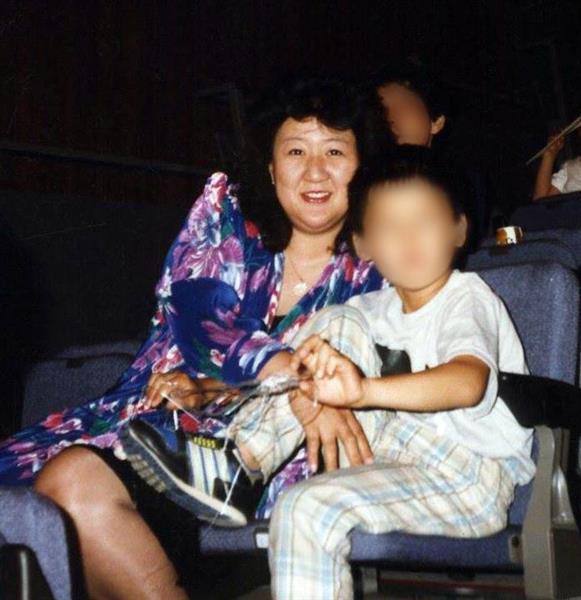 林真須美と長男が仲良く映る画像