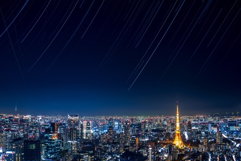 ペルセウス座流星群が見れる六本木ヒルズの天体クラブからの眺め