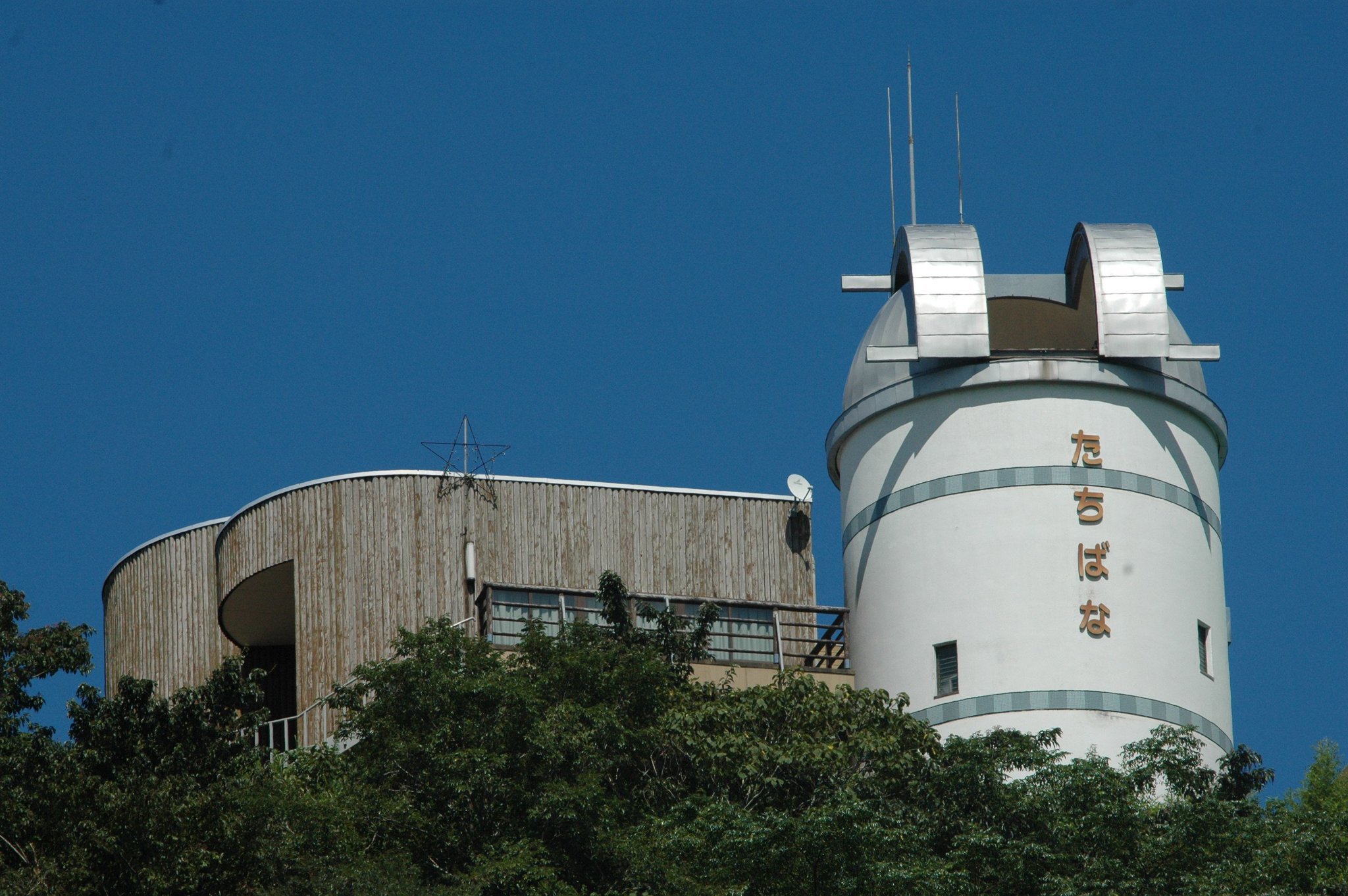 たちばな天文台から天体観測もできるスポット