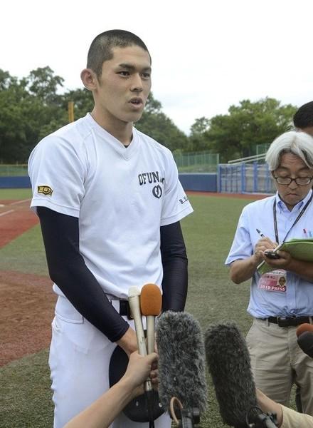 大船渡高の佐々木朗希はメジャー級の投手