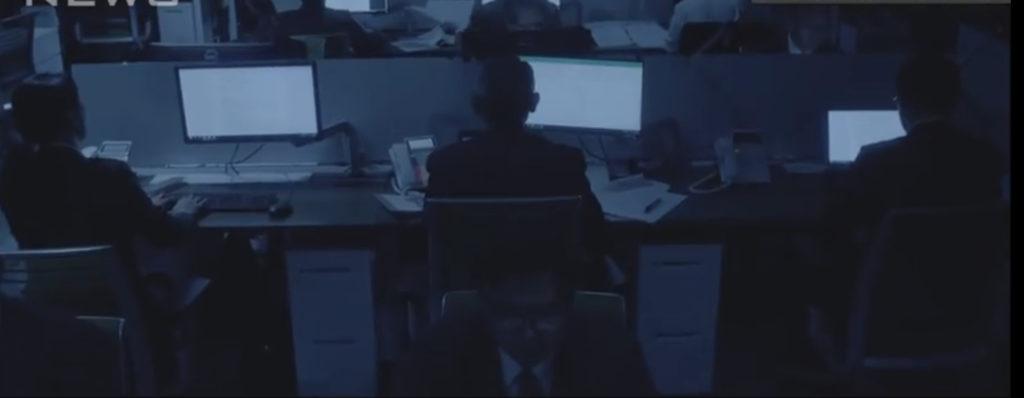 内調で淡々とロボットのように情報操作する官僚たち