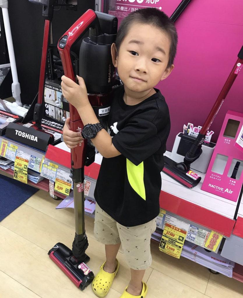掃除機マスターの4歳の長峰くんがウワサのお客様に過去に出演