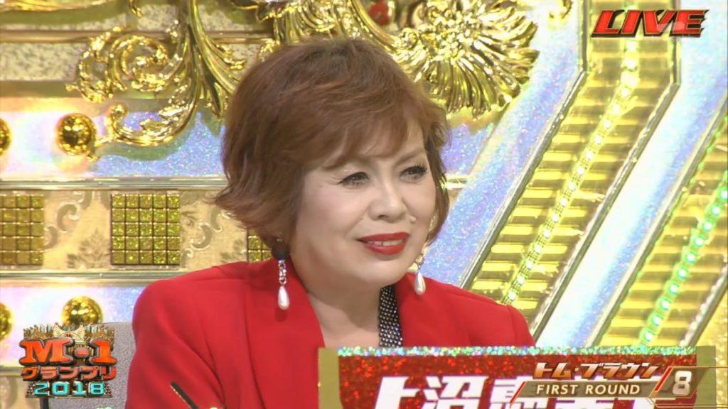 M-1グランプリには上沼恵美子は絶対に外せない存在で漫才界の実力者