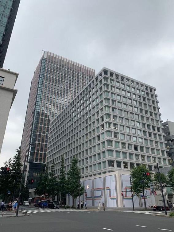 東京駅前丸の内アップルストアへのアクセス