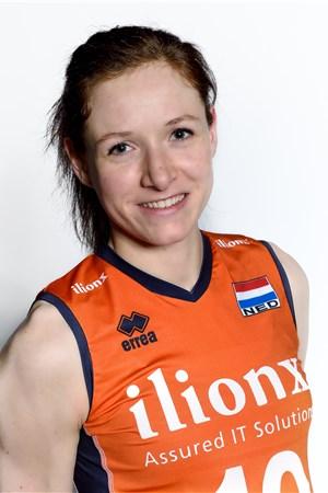 ワールドカップバレー女子オランダ代表のスローティエスはエースストライカーで注目選手