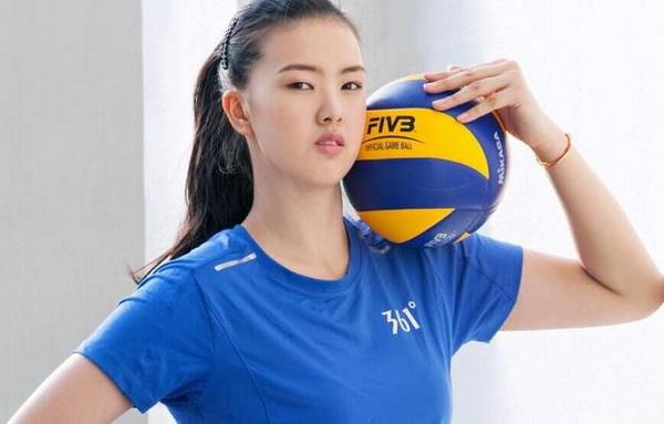 ワールドカップバレー中国女子代表の張 常寧