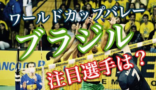 【モンスター揃い】ワールドカップバレー2019男子ブラジルの注目選手は?