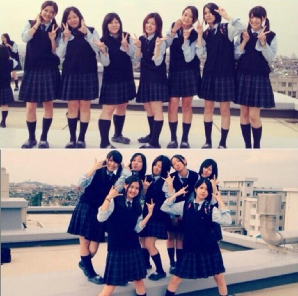 松元絵里花の高校時代の制服写真!今田美桜と同じ高校出身
