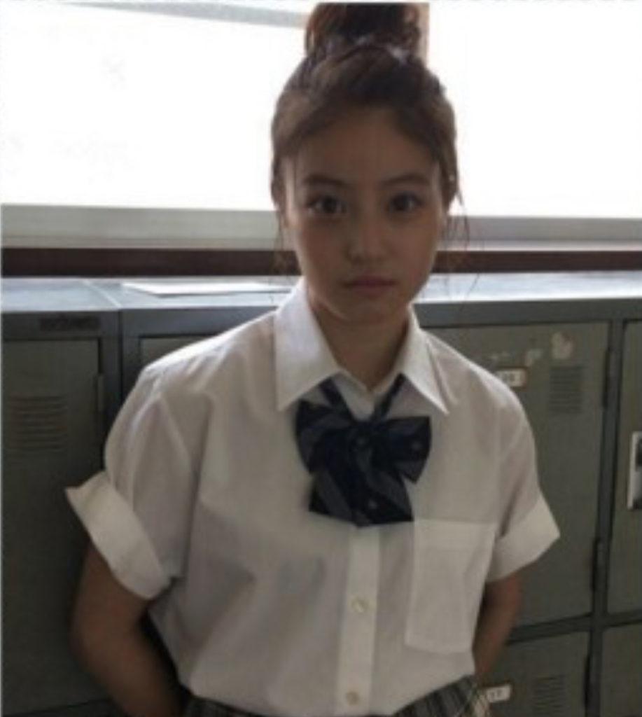 今田美桜高校時代の制服姿がカワイイ