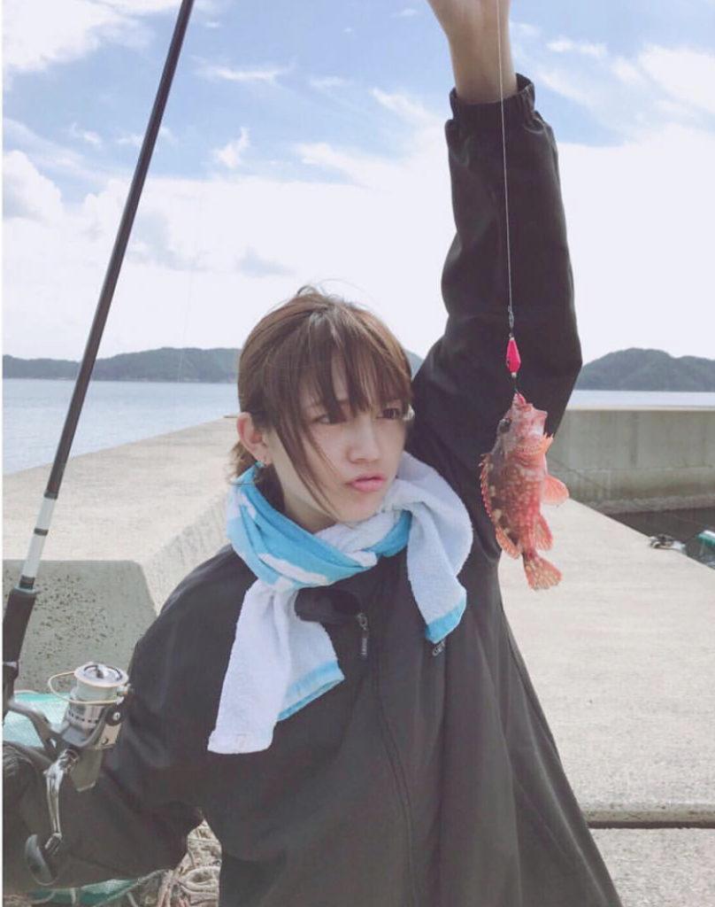 海釣りが趣味という川口春奈が可愛い
